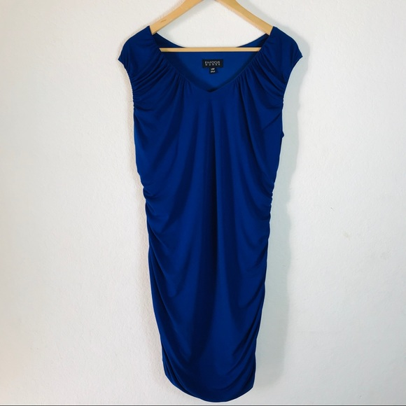 Enfocus Women Cobalt Blue Plus Size Dress Size 14W